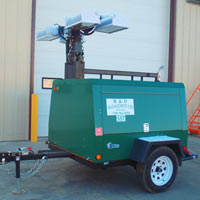 20 kw Wheeled Light Tower